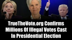 True The Vote Confirms Millions Of Illegal Votes Cast In Election