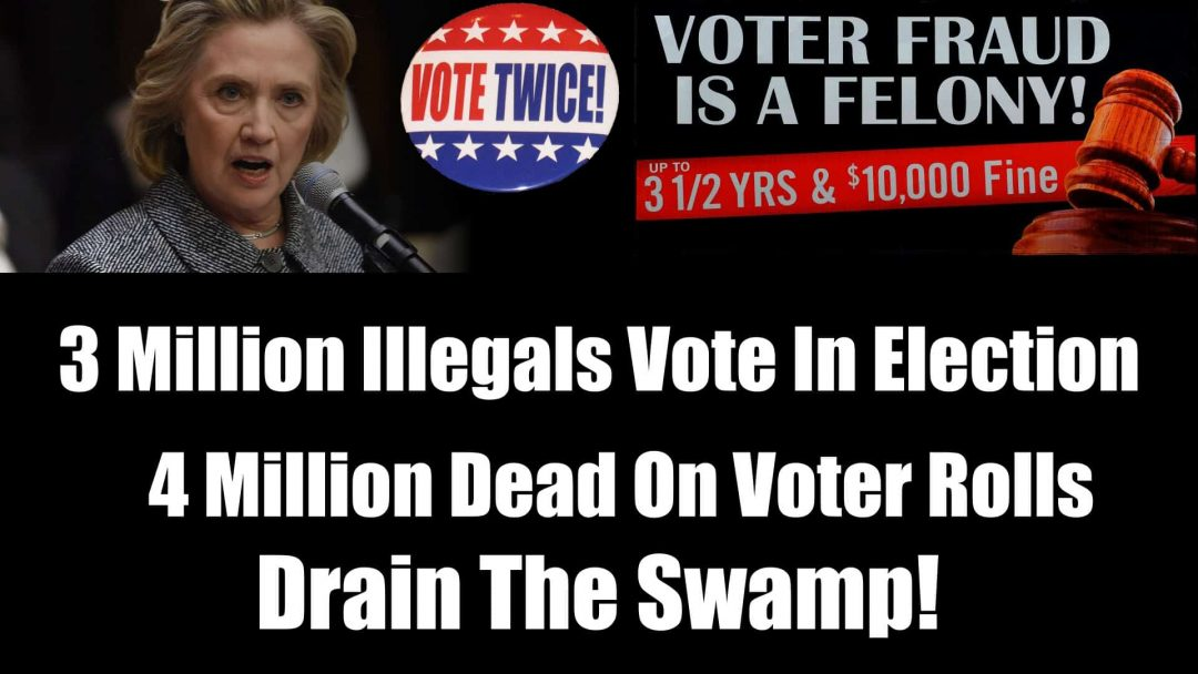 Three Million Illegal Aliens Vote In Presidential Election